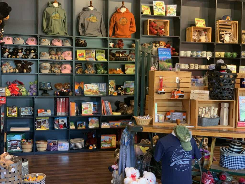 Royal Gorge Route new gift shop open!