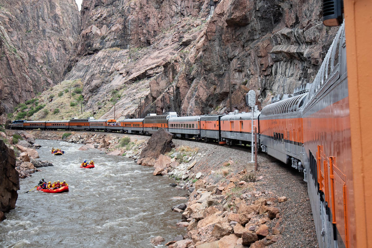 Ride with the Engineer aboard the Royal Gorge Route