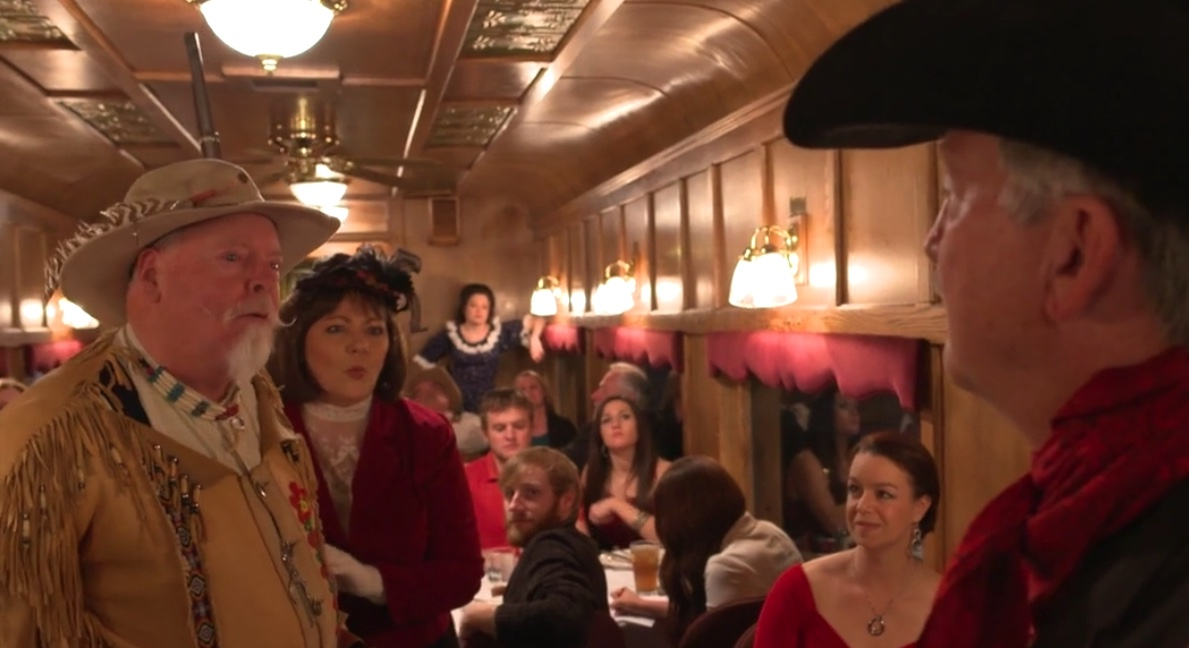 Ride the Royal Gorge Route Murder Mystery Train