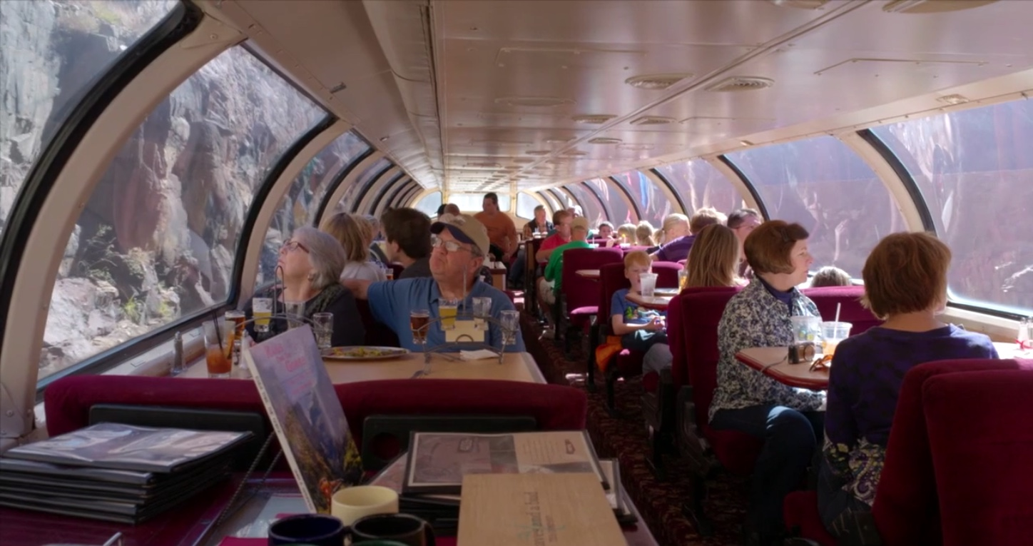 Ride and Dine aboard Vista Dome for the most spectacular views