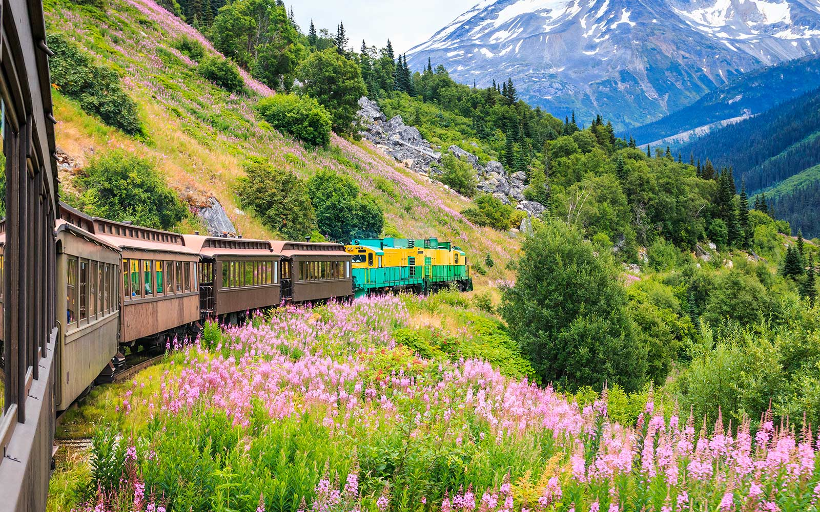 Travel & Leisure: The Best Train Trips to Take Across America