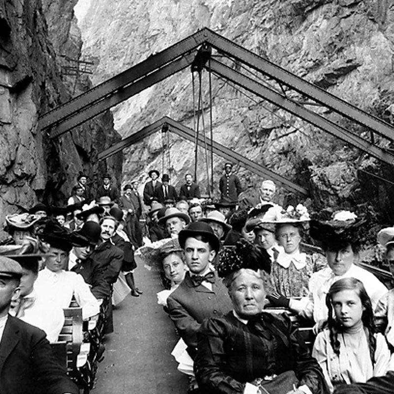 Royal Gorge Route Railroad Historic Photo