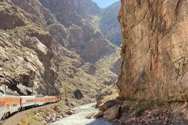 Royal Gorge Route Railroad in Royal Gorge 2 9.12.2020